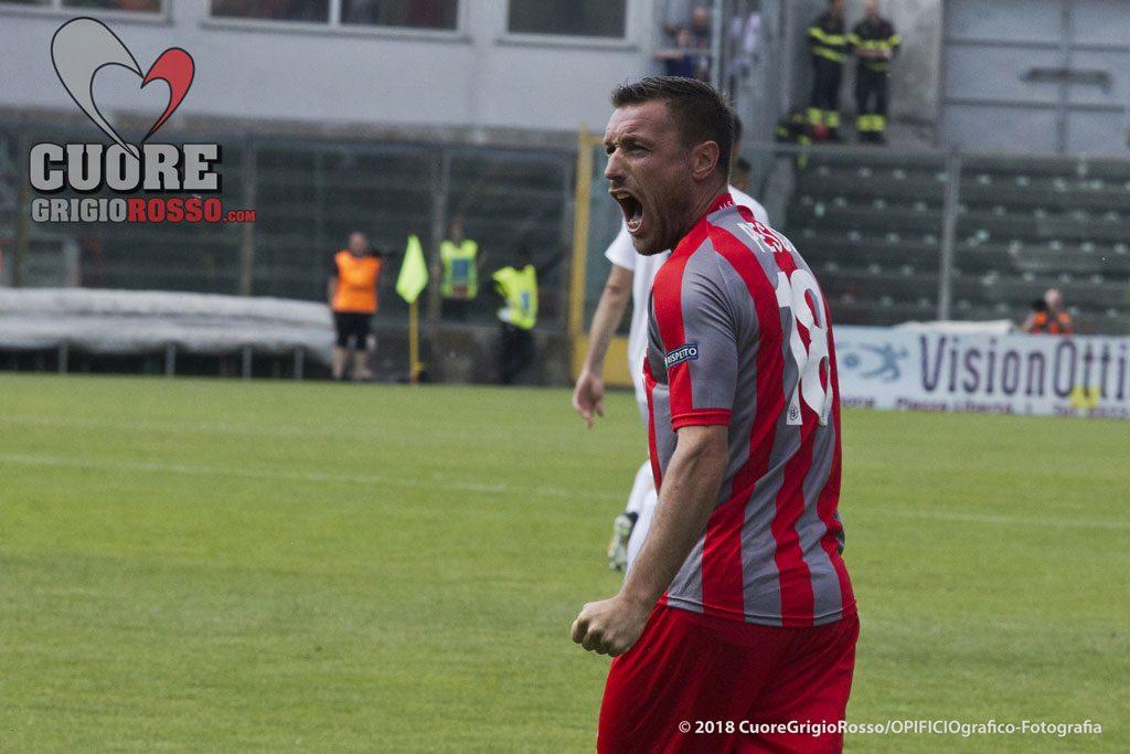Gli ex: Pesce, primo gol con la FeralpiSalò