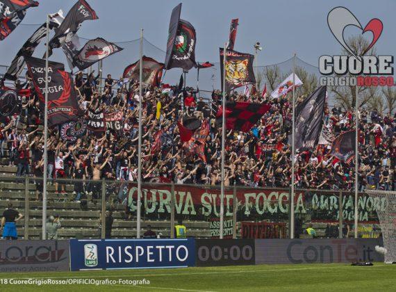 Serie B, restano 6 i punti di penalità del Foggia