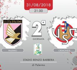 Palermo-Cremonese 2-2, tabellino e cronaca