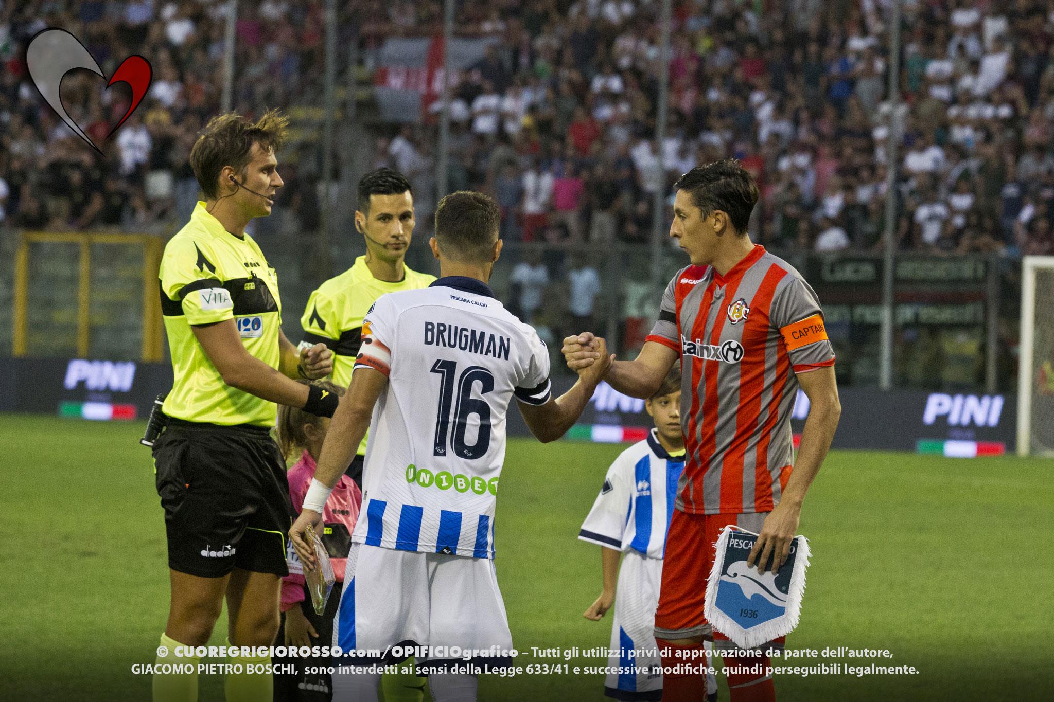 Pescara, il pres. Sebastiani: «Brugman resta con noi»