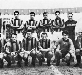 La Cremo 1967/1968 ospite allo Stadio Zini
