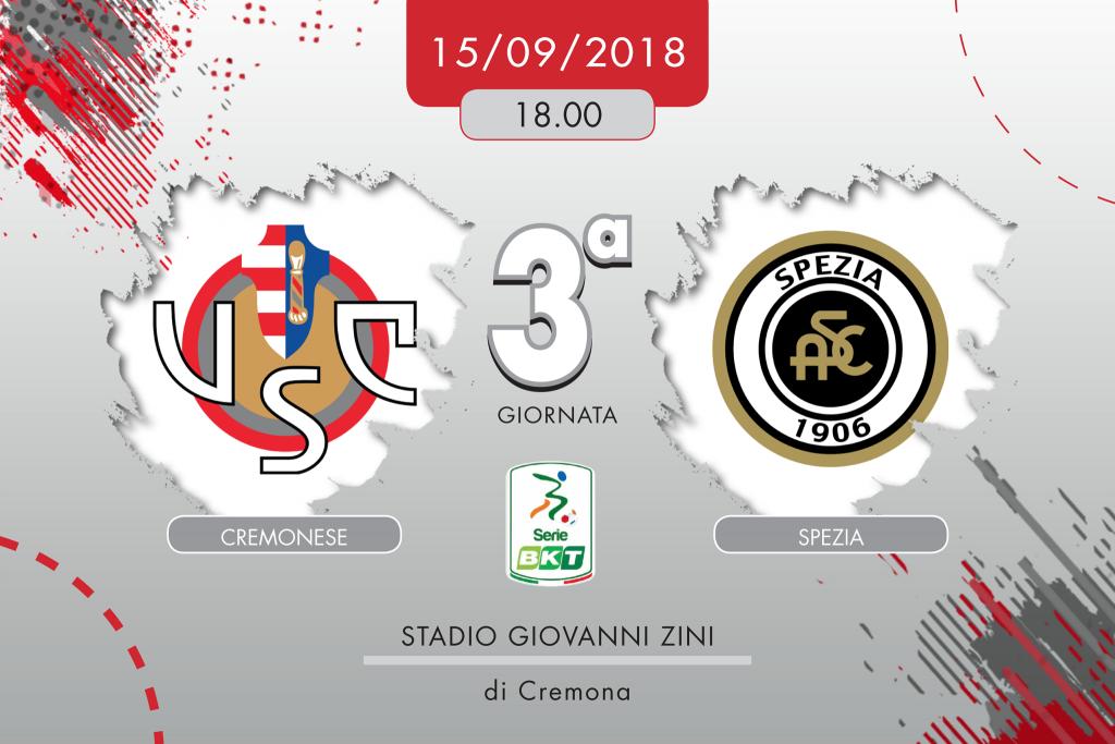 Cremonese-Spezia 2-0, tabellino e cronaca