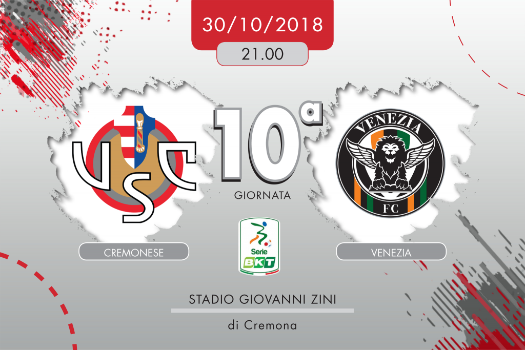 Cremonese-Venezia 0-1, tabellino e cronaca