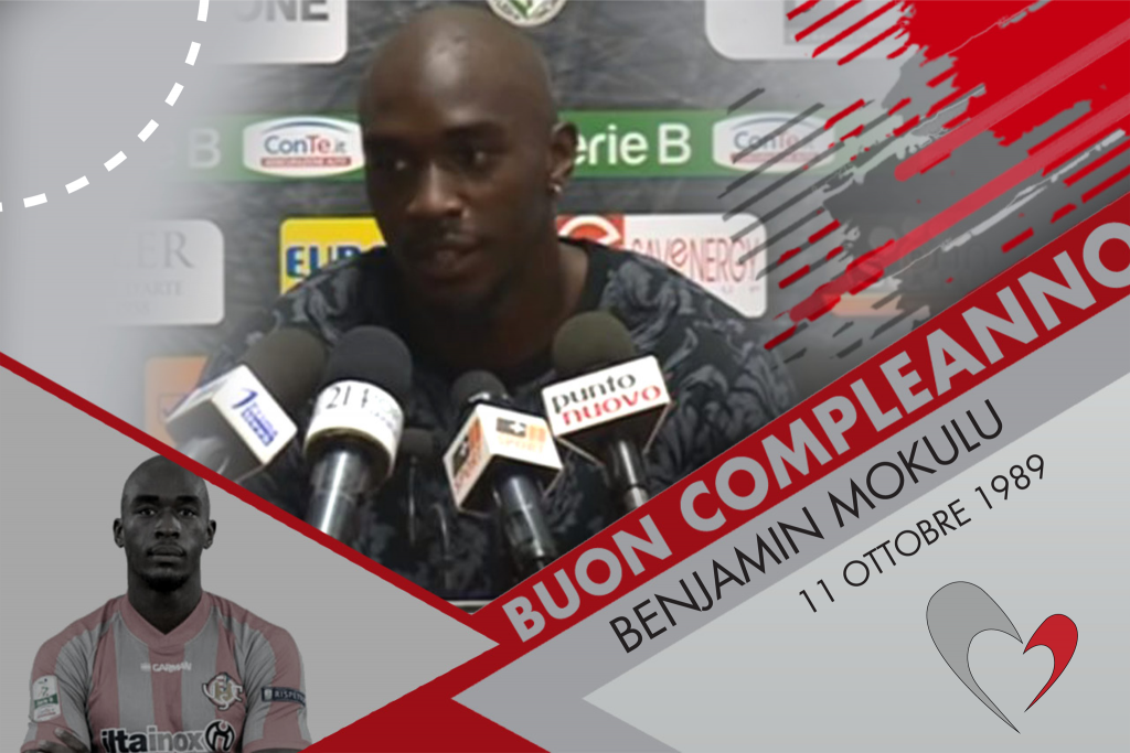 Auguri a Benjamin Mokulu, l'ariete belga-congolese