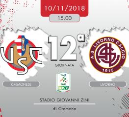 Cremonese-Livorno 1-0, tabellino e cronaca