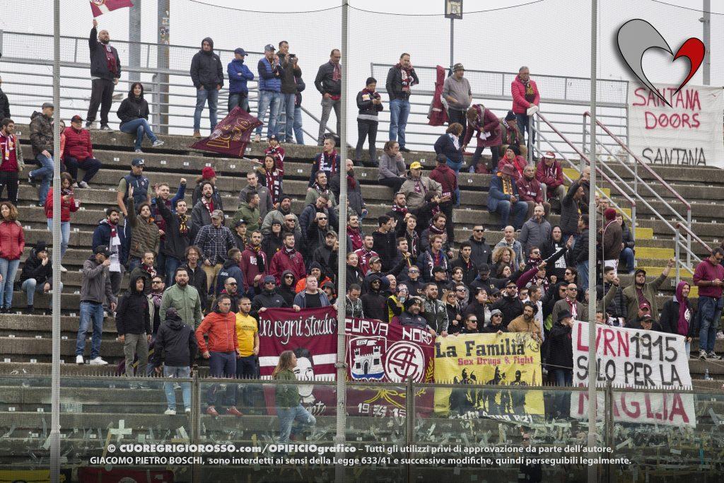 Livorno, squadra in ritiro in vista della Cremonese