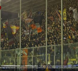 Lecce-Cremonese, le foto dei tifosi