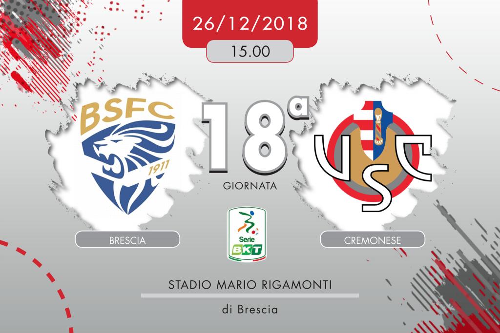 Brescia-Cremonese 3-2, tabellino e cronaca