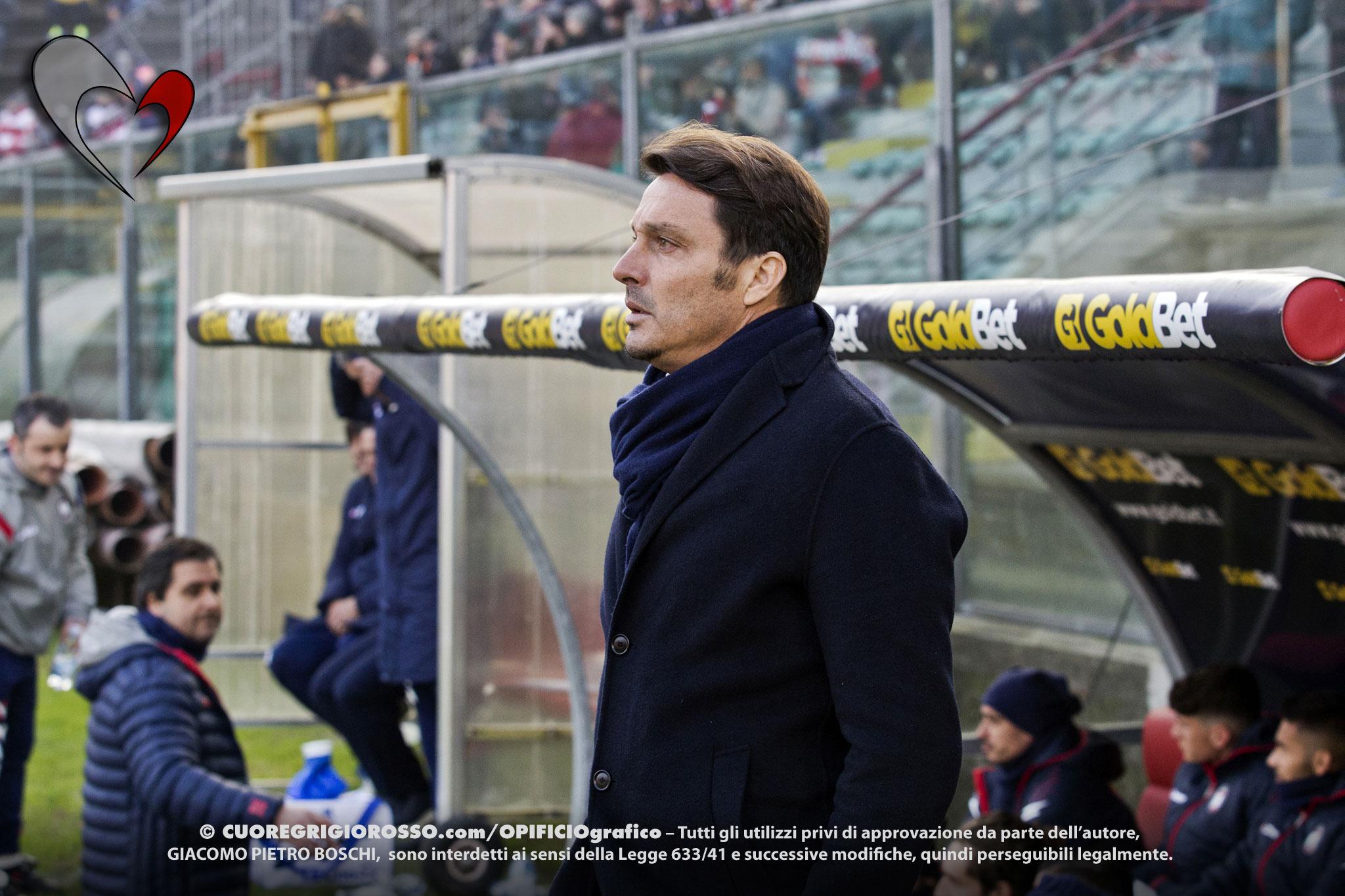 Perugia, Oddo: «Cremo forte anche se in difficoltà»