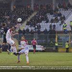 Paulinho stacca per il gol contro il Carpi Cremo-Carpi