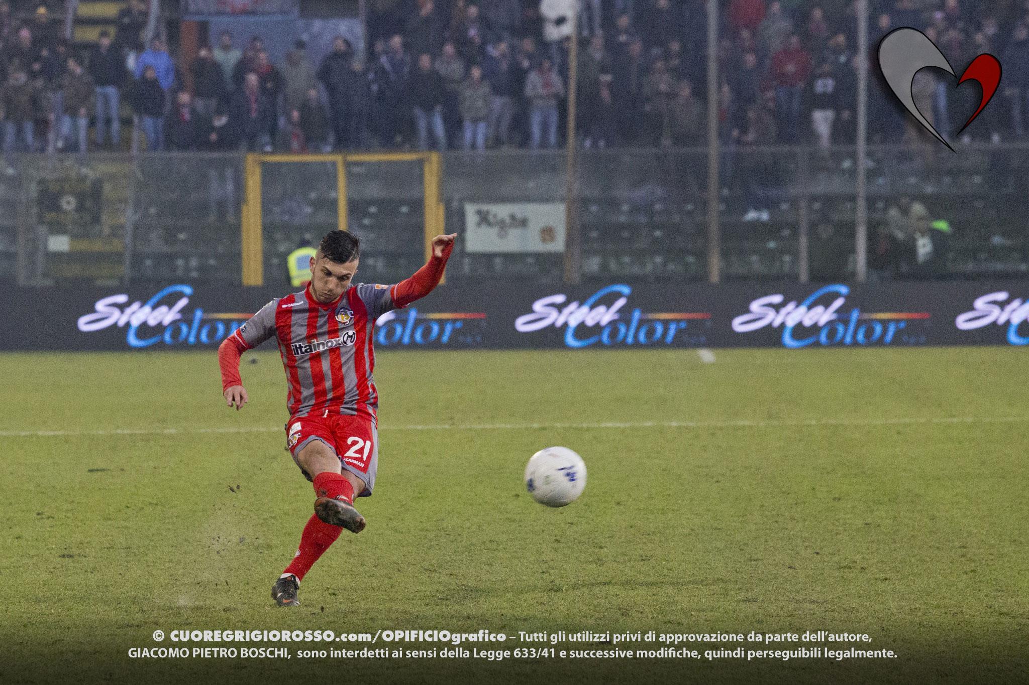 Strefezza: «Tante occasioni, spero di tornare in gol presto»