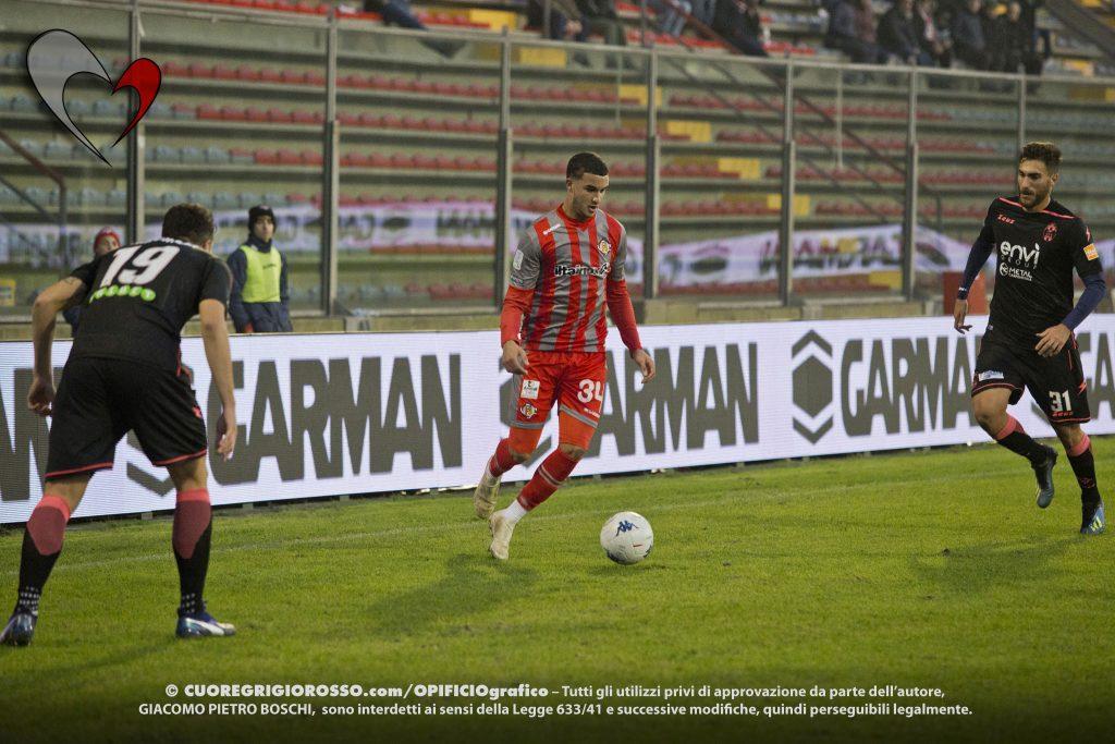 Boultam: «Sono contento, soprattutto per la vittoria»