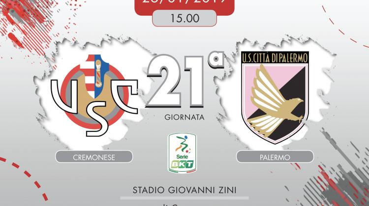 Cremonese-Palermo 2-0, tabellino e cronaca