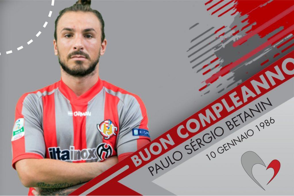 Tanti auguri di buon compleanno a Paulinho!