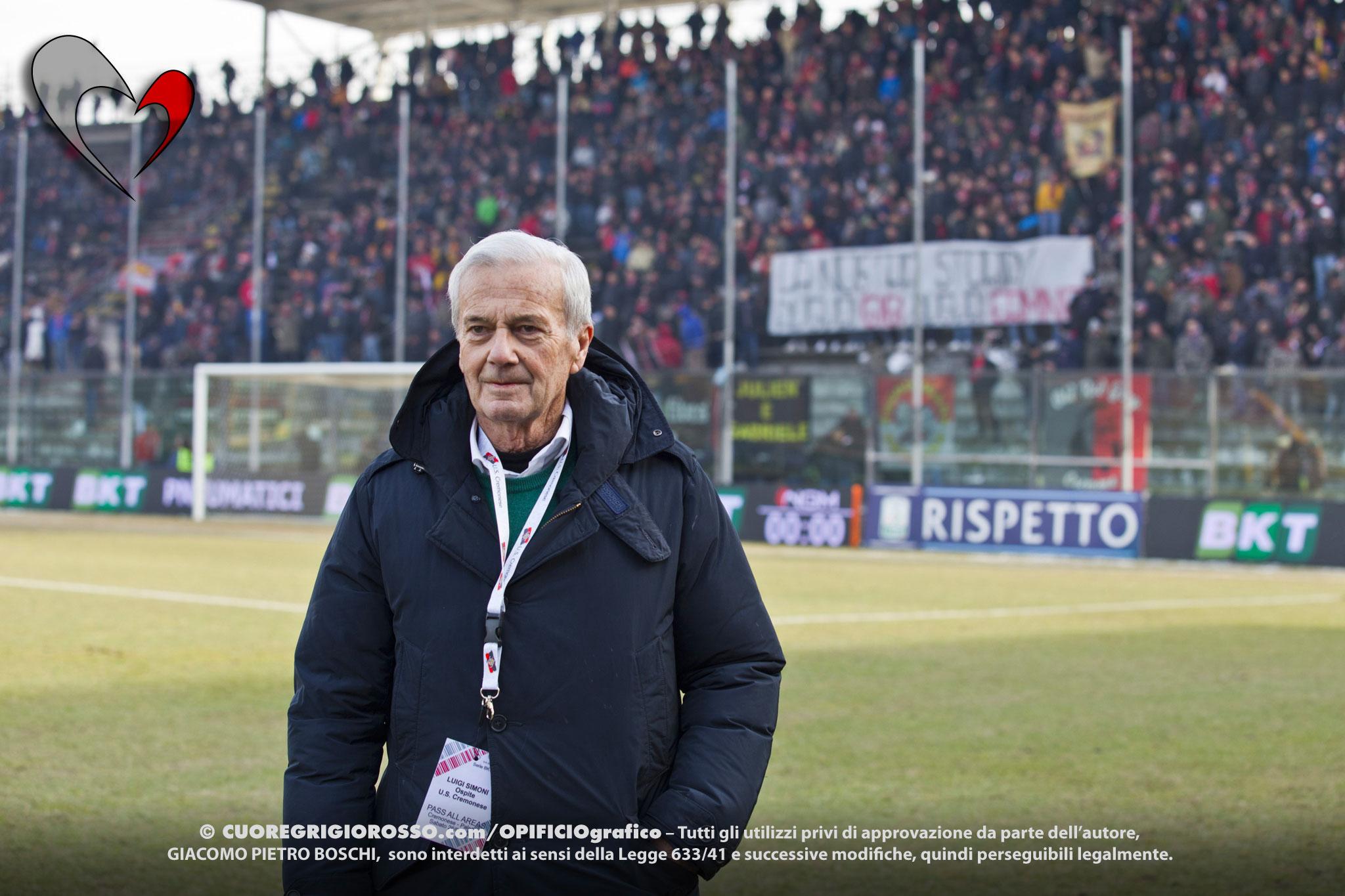 È morto Gigi Simoni, mister degli anni d'oro della Cremo