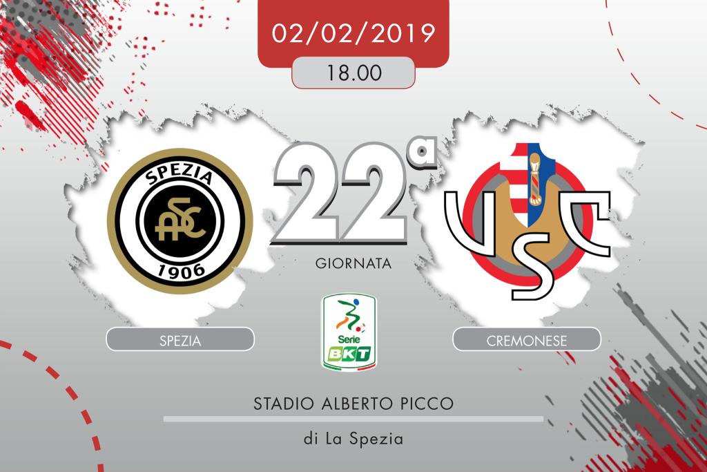 Spezia-Cremonese 2-0, tabellino e cronaca