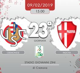 Cremonese-Padova 0-0, tabellino e cronaca