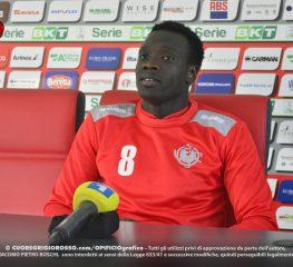 Mbaye: «Qui per crescere, mi ha colpito il tifo dello Zini»
