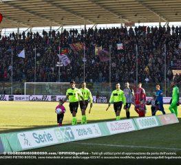 Salernitana-Cremonese, le foto dei tifosi