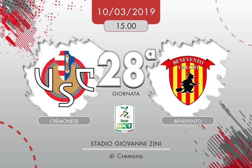 Cremonese-Benevento 1-0, tabellino e cronaca