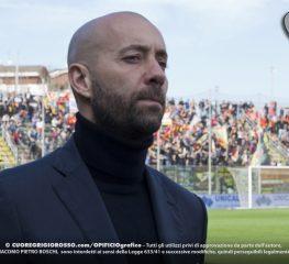 Benevento, Bucchi: «Sconfitta che non ci sta»
