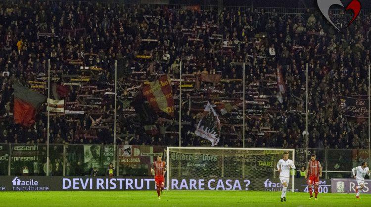 Cremonese-H. Verona, le foto dei tifosi grigiorossi