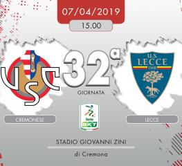 Cremonese-Lecce 2-0, tabellino e cronaca
