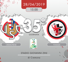 Cremonese-Foggia 1-0, tabellino e cronaca