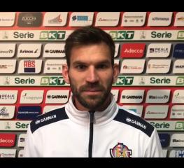Strizzolo: «Il gol a Reggio una liberazione»