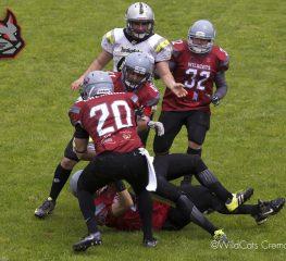 Wildcats, sconfitta di misura contro i Napoli Express