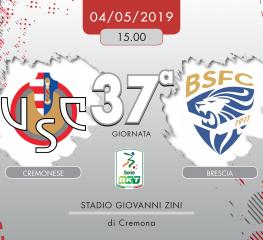 Cremonese-Brescia 0-0, tabellino e cronaca