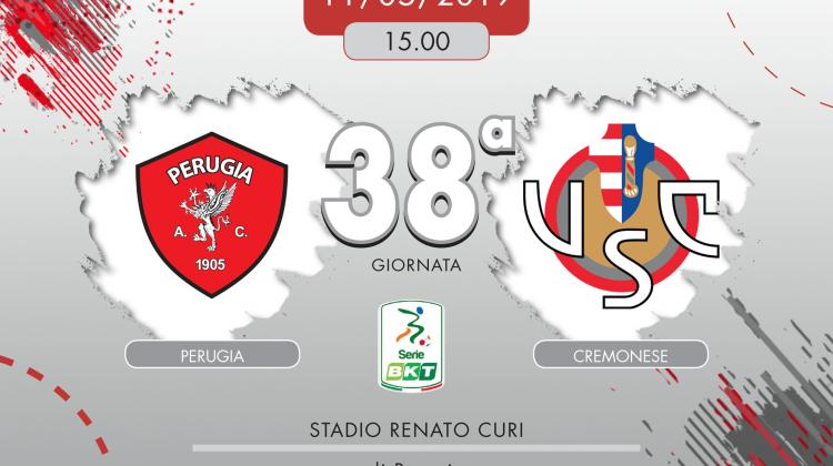 Perugia-Cremonese 3-1, tabellino e cronaca