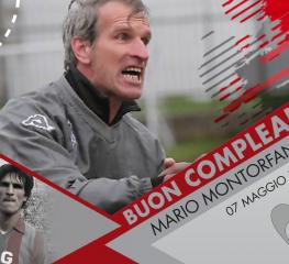 Mario Montorfano, la leggenda grigiorossa