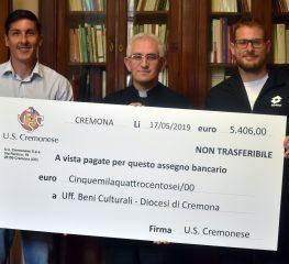 Cremo, donazione per un'opera della Cattedrale