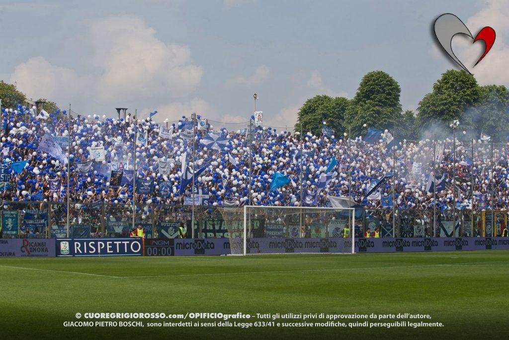 Tempo di verdetti, il Brescia retrocede in Serie B