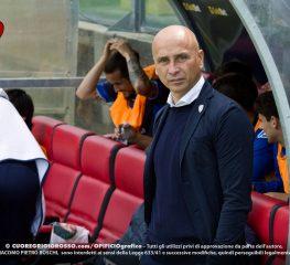 Lecce, Corini: «Meritavamo di vincere»