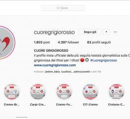 Tutte le news sulla Cremonese anche su Instagram!