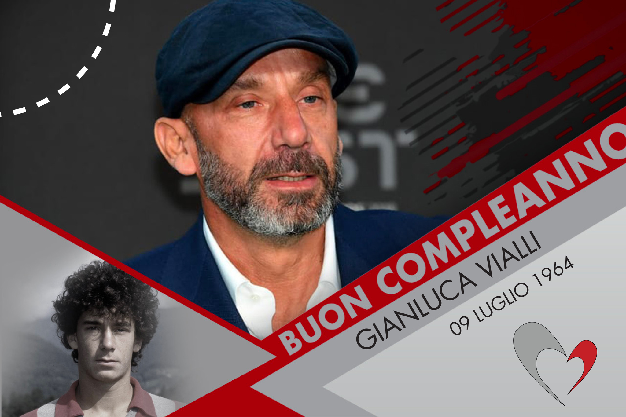 Gianluca Vialli, dalla Cremonese al mondo