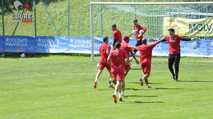 Cremo, le foto dell'allenamento odierno a Molveno