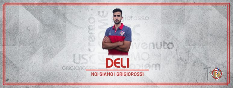 UFFICIALE: Francesco Deli è grigiorosso