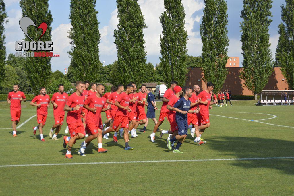 Cremo, le foto del primo allenamento della stagione
