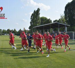 Cremo, primo giorno di allenamenti a Molveno