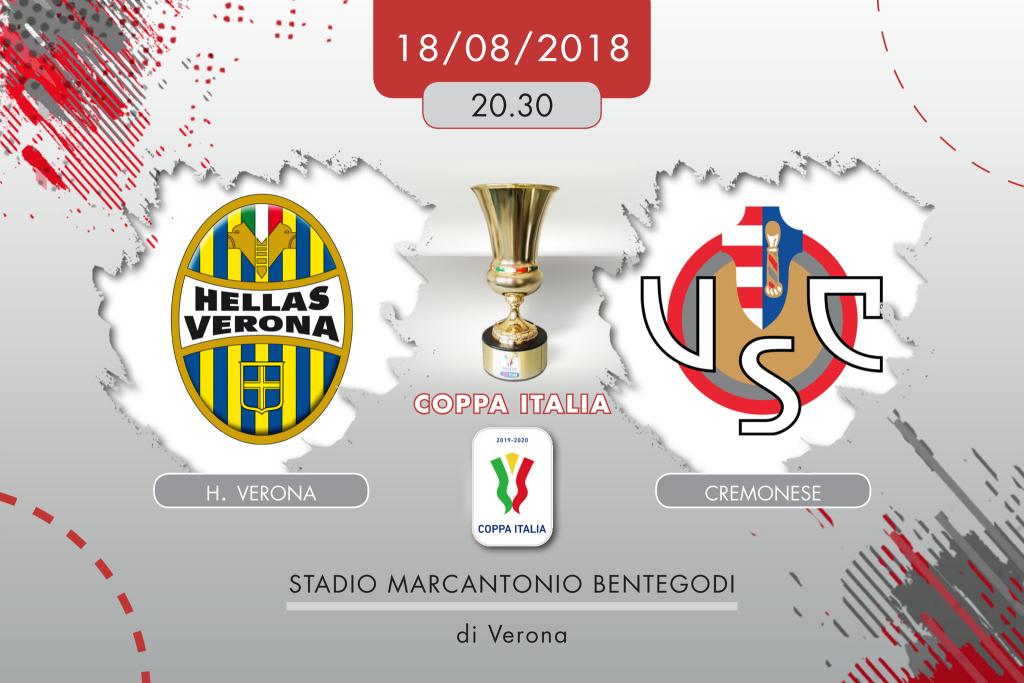 Hellas Verona-Cremonese 1-2 dts, tabellino e cronaca