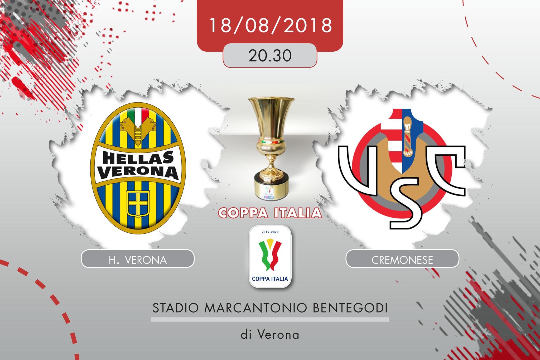 Hellas Verona-Cremonese, tabellino e cronaca