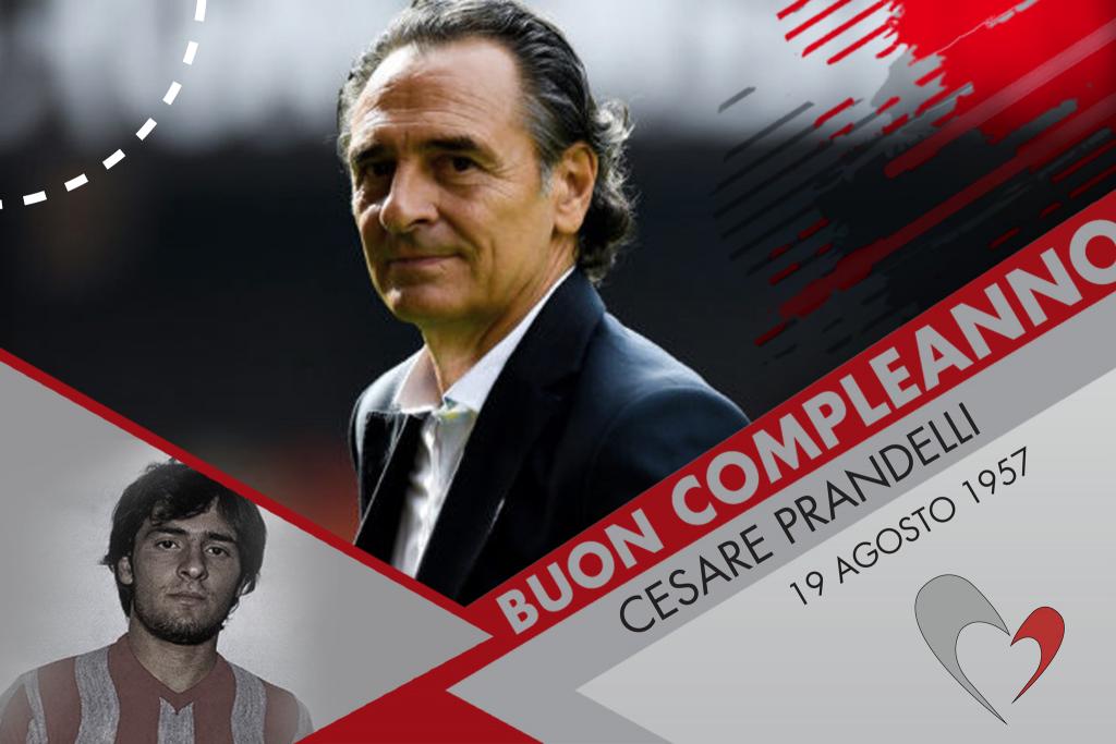 Auguri a Cesare Prandelli, che compie 62 anni