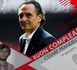 Auguri a Cesare Prandelli, che compie 63 anni
