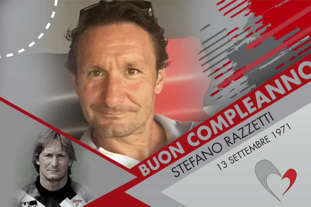 Auguri a Stefano Razzetti, che oggi compie 48 anni!