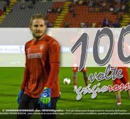 Ravaglia, 100 partite con la maglia della Cremonese
