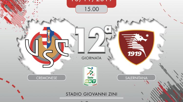 Cremonese-Salernitana 1-0, tabellino e cronaca