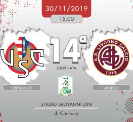 Cremonese-Livorno 0-0, tabellino e cronaca